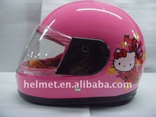 Lovely motorcycle children helmet with cartoon design AD501