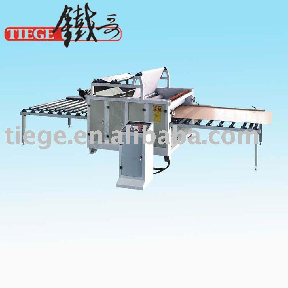 Para trabajar la madera de papel de melamina de laminación máquina para los muebles Panel de