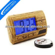 Alram clock, Multi functions 640x480p Hidden Video Camera with Blue LCD Screen