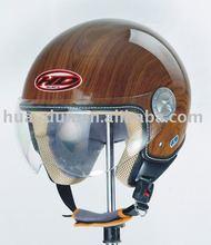 motorcycle open face racing helmet