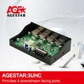 Estrella edad USB3.0 Hub 4 Ports / del panel frontal de la caja : 3UHC