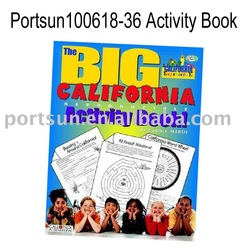 big california activity book manufacturer from china