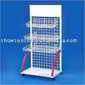 2011-67 wood wire display stand/ display rack/display cabinet online retail store plastic gun case