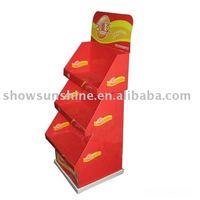 cardboard display,paper display stand shop interior design