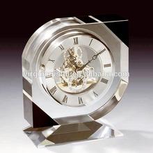 Skeleton crystal desk clock Business Gifts