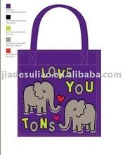 Big shopping bag/HOT stamp PP woven shopping bag/Online bag shopping