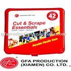 Pocket/Mini/Promotion first aid kit- 42 pcs - Hard Case