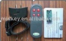 Remote control electric shock bark stop