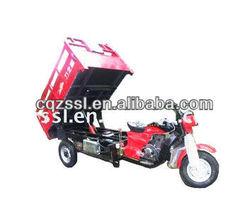 popular red 175CC 200CC 250CC hydraulic tricycle