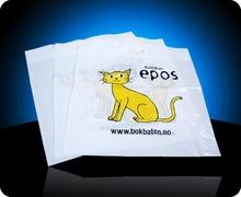 China T-shirt HDPE shopping bags(PE-115)