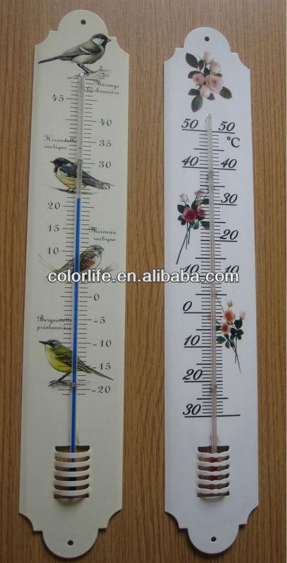 M tal thermom tre d coratif ext rieur thermom tre - Thermometre exterieur decoratif ...