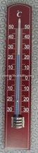 Termómetro de la pared libre de mercurio del termómetro y piezas