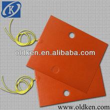flexible silicone heater