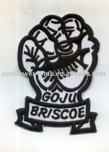 Hot Sale punch Logo Embroidery cartoon patch form factory