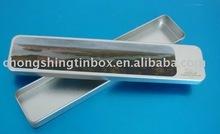 Tin box for pen