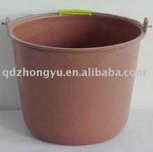 3 gallon household plastic bucket,water bucket with metal handle