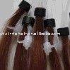 indian hair Ring-X human hair extension/micro loop ring hair