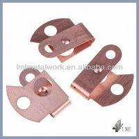 OEM/ODM precise copper metal stamping parts