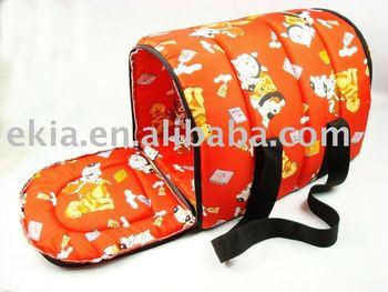 Cotton dog carry bag ,protable pet bags