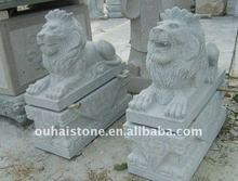 มือ- แกะสลักหินแกรนิตสิงโต/สิงโตรูปปั้นสำหรับการขาย