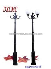 Decorative cast iron street lamp post 3.5M