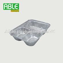 Shanghai Able Packing 3 Compartments Aluminium Foil lunch box