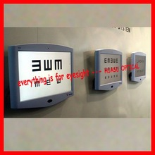 up-graded LED vision chart with Mirrow Image function, new model