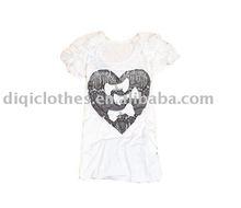 100% cotton women's t-shirt