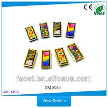 Deluxe enamel memory card