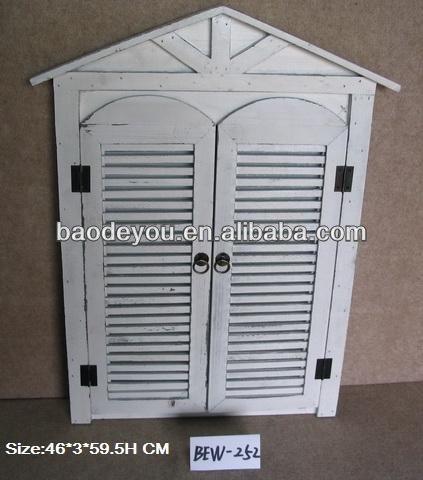 Fen tre blanche en forme de miroir d coratif cadre id du for Miroir forme fenetre