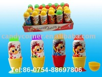Crazy Hair Paste Candy and Fruit Candy Jam