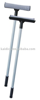 window wiper with aluminium retractable pole