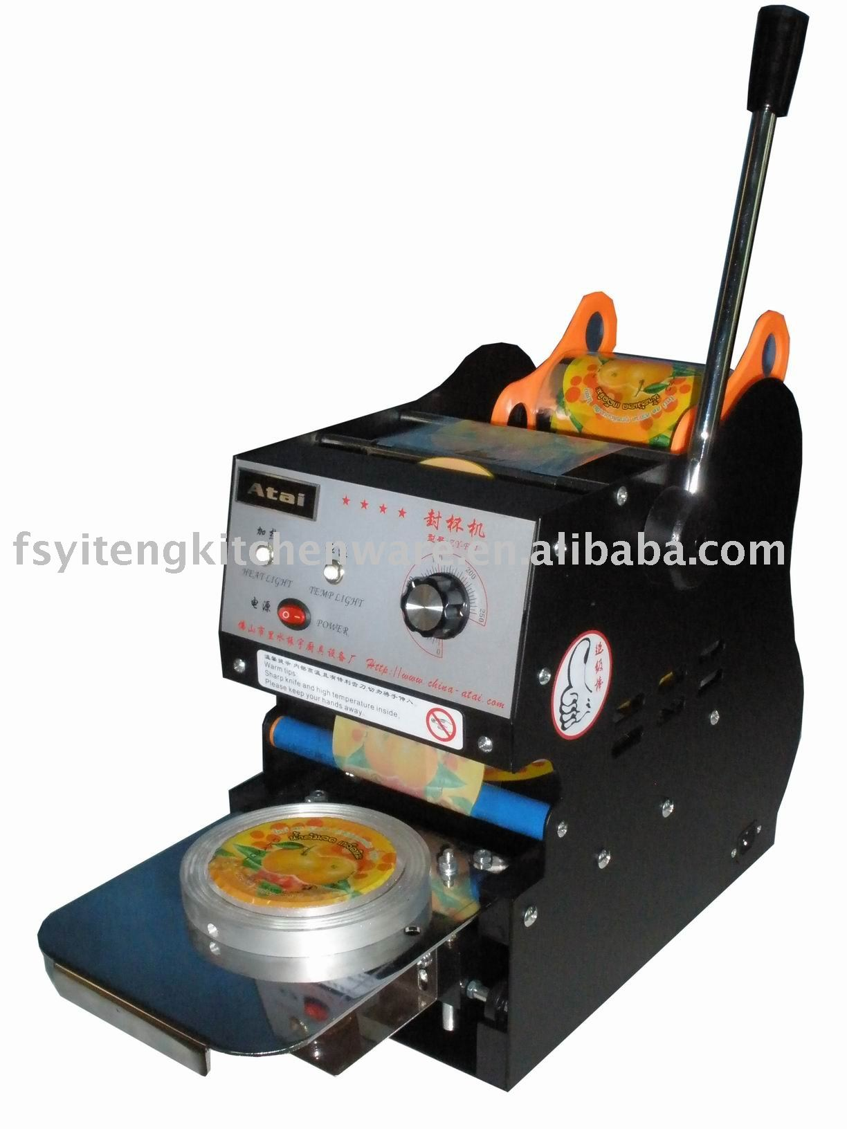 Cup Sealing Machine Photo, Detailed about Cup Sealing Machine Picture ...