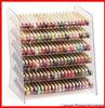 2014 newest clear acrylic nail polish display rack