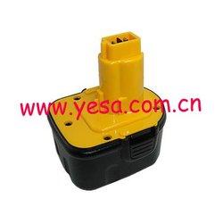 Power tool battery for Dewalt 12V DW9072