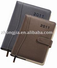 ZJ-P 2011-18-28 PU cover Diary with calendar