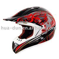 DOT and ECE certified helmet motorcycle off road helmet/motorcross helmet with anti-fog visor
