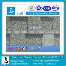Fiberglass Shingle-Laminated Asphalt Roof Tile For Building