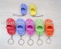 China Manufacture promotional eva foam floating fashion EVA slipper keychain