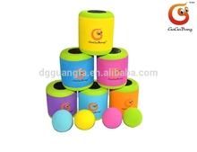 Favorites children intelligence toys, Tin set, Toss jar,