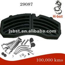 non-asbestos ,actros 1831ak ,29087 brake pad