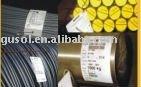 Aluminum high temperature label film for metal industry