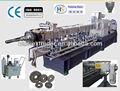 Shj-65 co.- rotation twincouverture- vis à bois machines à fabriquer des granules de plastique