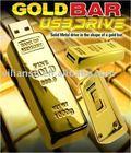 Hot sale Mini gold bar USB