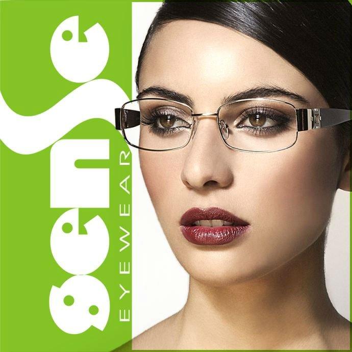 2012 Latest Eyewear Optical Frames Fashion Women Eyeglasses View Optical Frames Sense Product