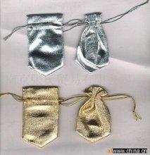 Métallique sac, Divers couleur et taille, Ruban cordon