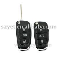 Folding Remote KEY for car alarm security systemJ48