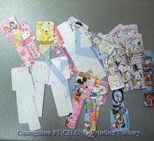 plastic PET card plastic hang tag