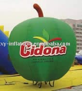NL-Bal031 Custom Made Inflatable Apple Shape Balloons