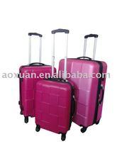 lady euramerican elegant PC/ABS trolley luggage
